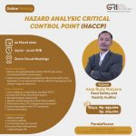 """Online Class Training 22 March 2021  """"Hazard Analytis Critical Control Point (HACCP)"""""""